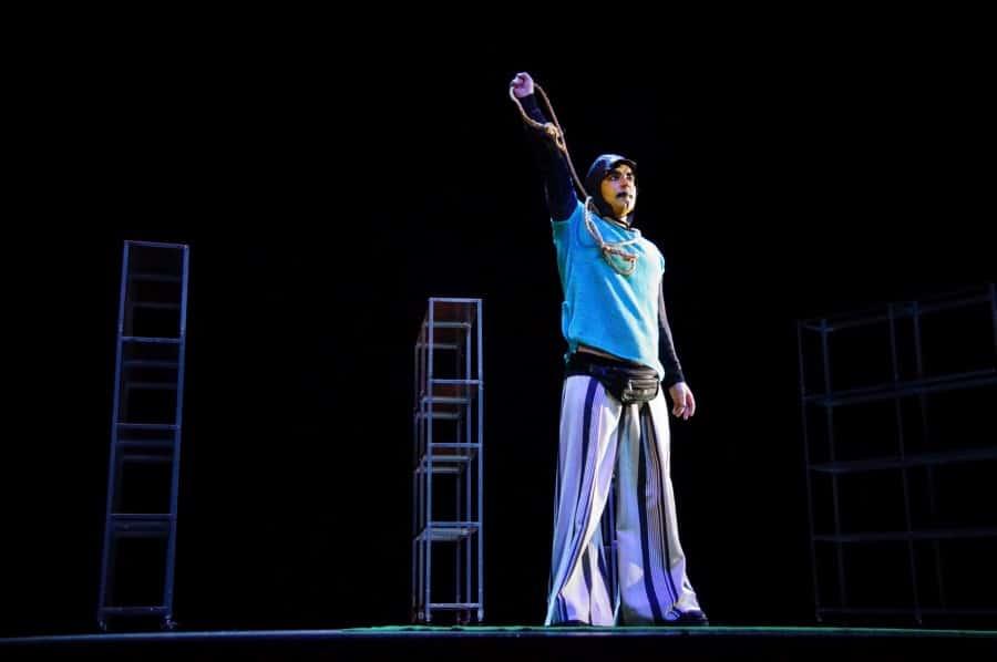 Der gute Mensch von Sezuan Minotauros Kompanie inklusives Theater 006