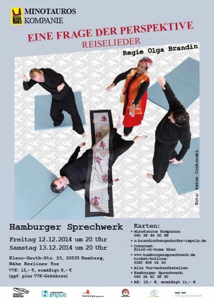 Frage der Perspektive Minotauros Kompanie inklusives Theater Ensemble 001