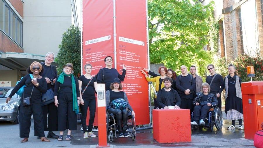 Inklusives Theater Hamburg - Galerie Minotauros Kompanie inklusives Theater 016